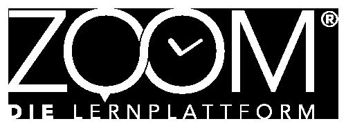 Zoom – Die Lernplattform Logo weiß