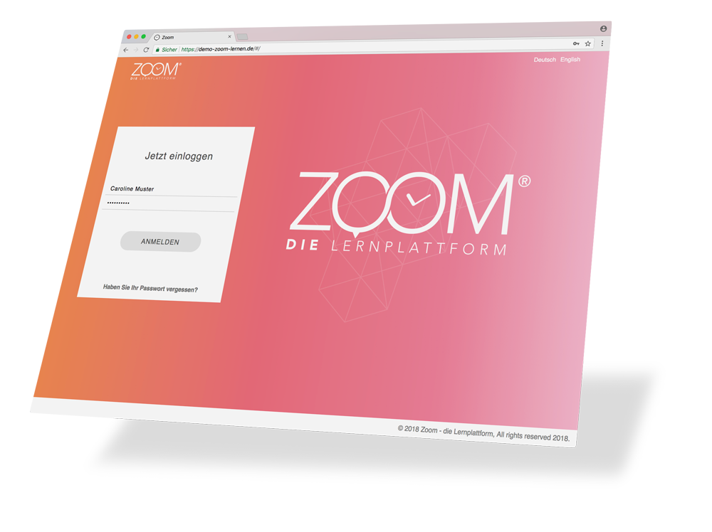 ZOOM – personalisierter Login